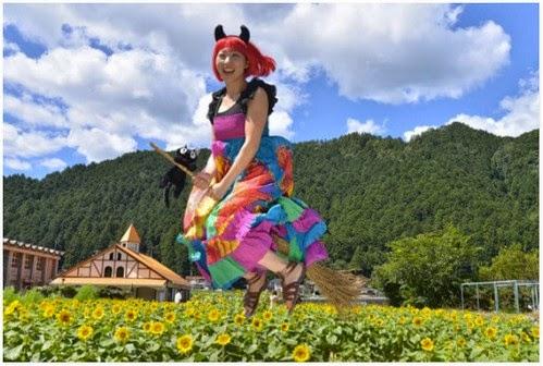Di Mino City Witch Contest Anda Boleh Terbang Dengan