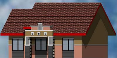 desain minimalis rumah type 75/165
