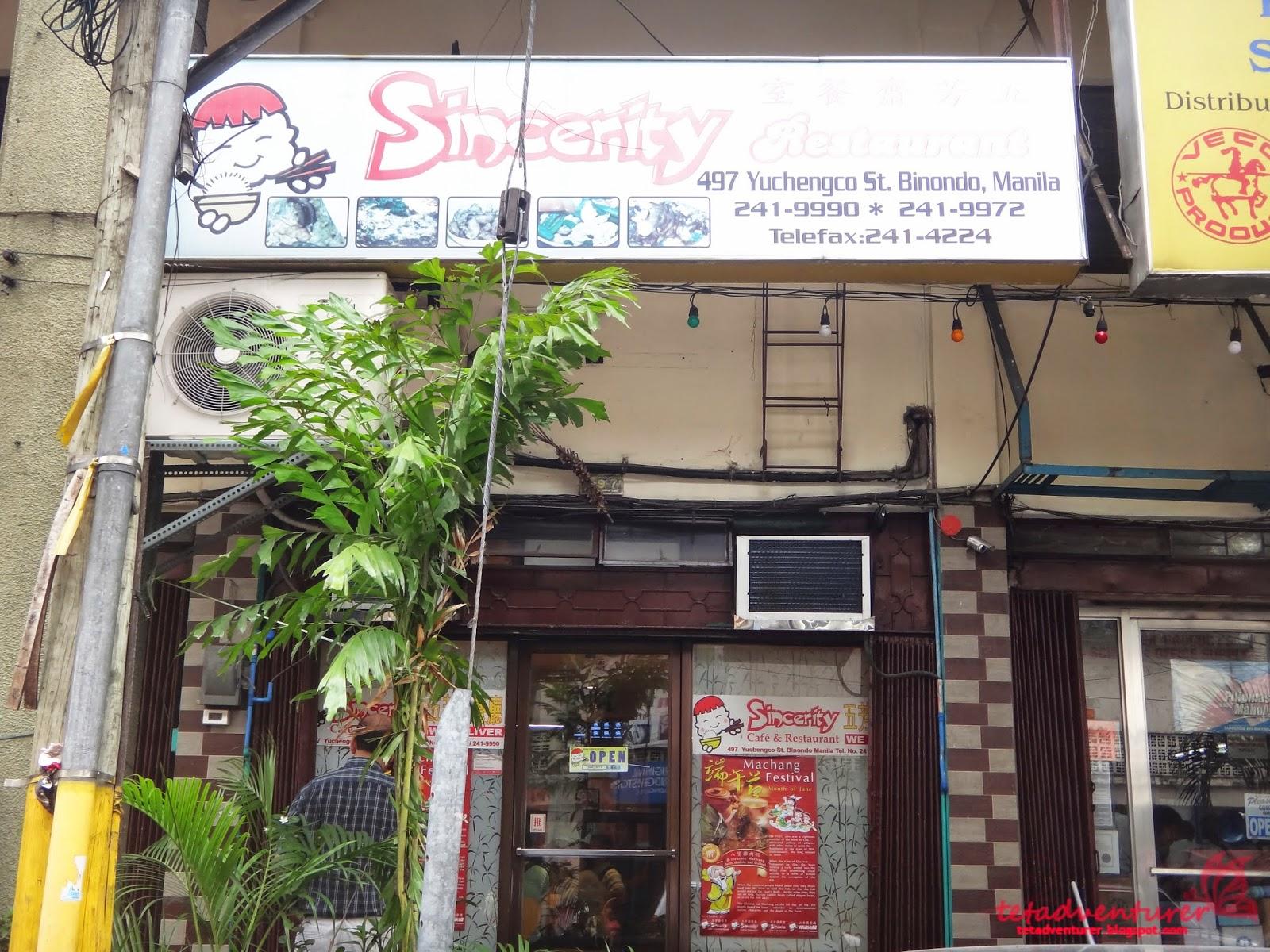 Ying K Cafe Menu