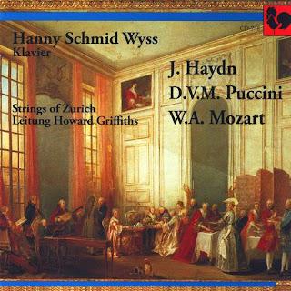 Klavierkonzerte von Joseph Haydn, Domenico V. Puccini, Wolfgang A. Mozart