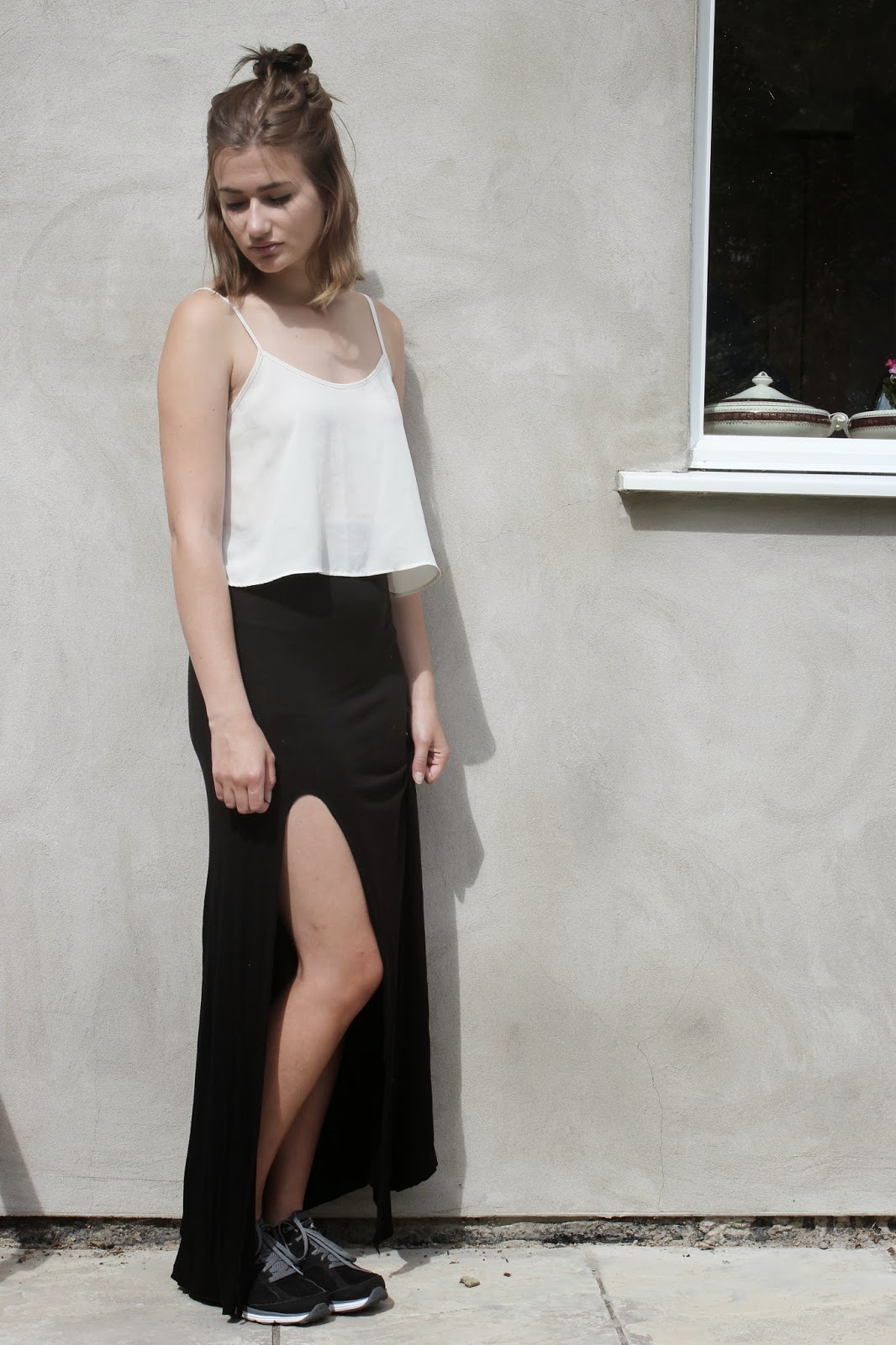 all by diamonds of the day maxi skirt and