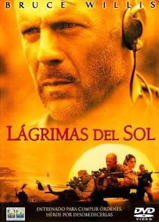 Carátula Lagrimas del sol películas dvdrip latino