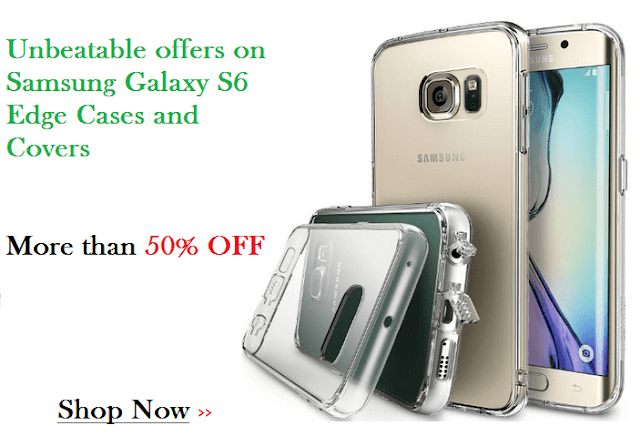 Samsung Galaxy S6 Edge Cases and Covers Special Offers