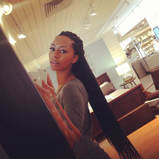 Box Braids - A Good Summer Protective Hairstyle