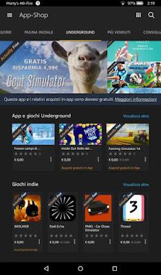 buongiornolink - Amazon Underground, app gratis in Italia