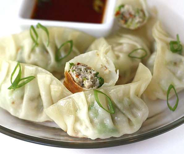 Serve and enjoy this delicious Japanese Food Recipe – Gyoza