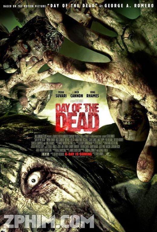 Ngày Kinh Hoàng - Day Of The Dead (2008) Poster