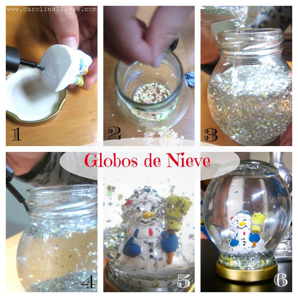 Artividades globos de nieve - Pegamento para plastico resistente al agua ...