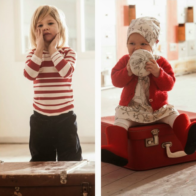 Aarrekid preview: Autumn/Winter 2014 organic kidswear collection