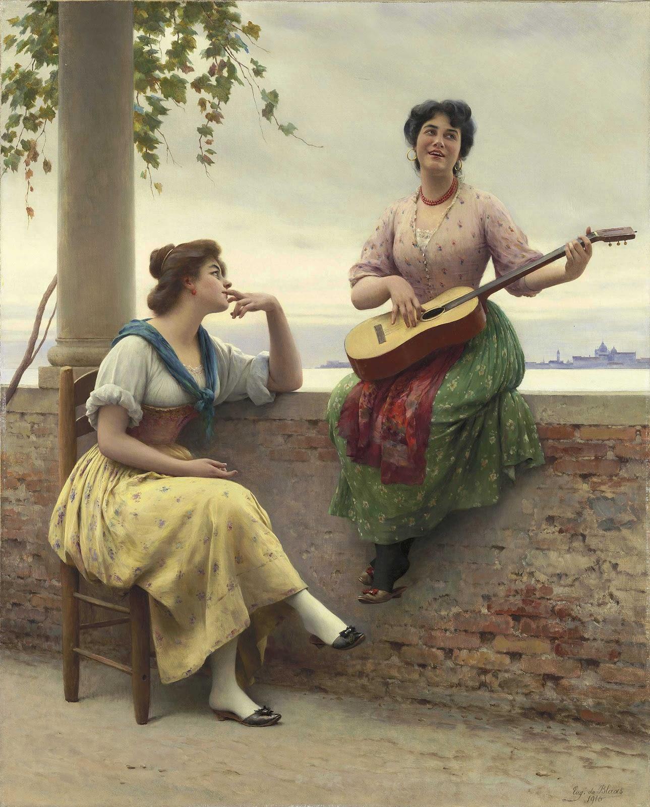 Eugene de  laas Venetian melody christies
