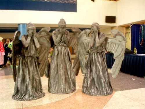 weeping angels from dr who
