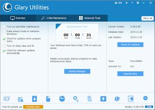 Gambar 1 - Glary Utilities