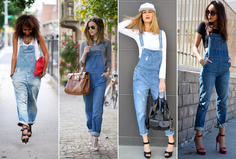 Como usar jardineira jeans capricha no look for Jardineira jeans feminina c a