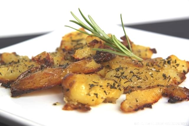 Heidis Verden Opskrift Knuste Kartofler Med Salt Eddike Og Rosmarin