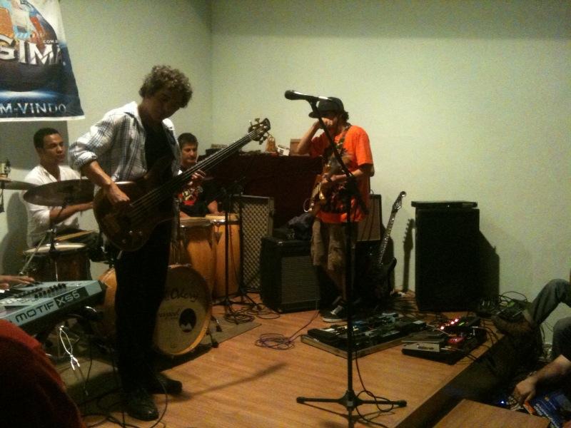 ... Conservatório de Música de Niterói, para um público composto por