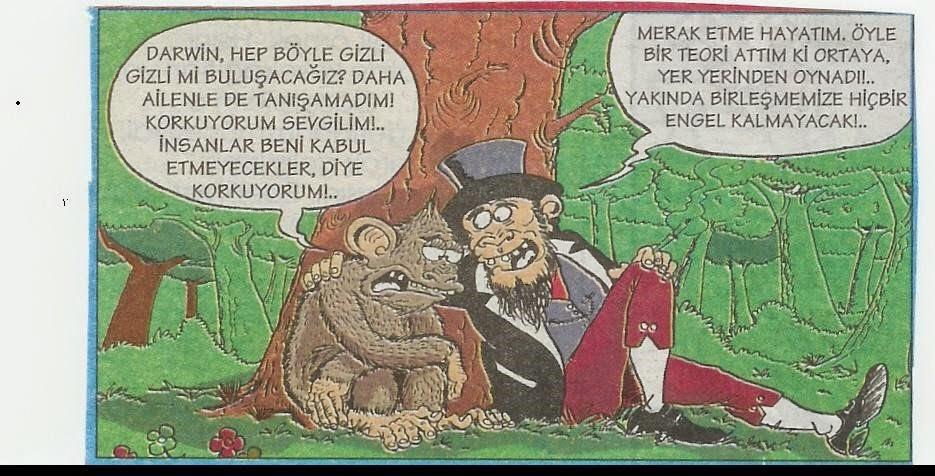 darwin karikatür