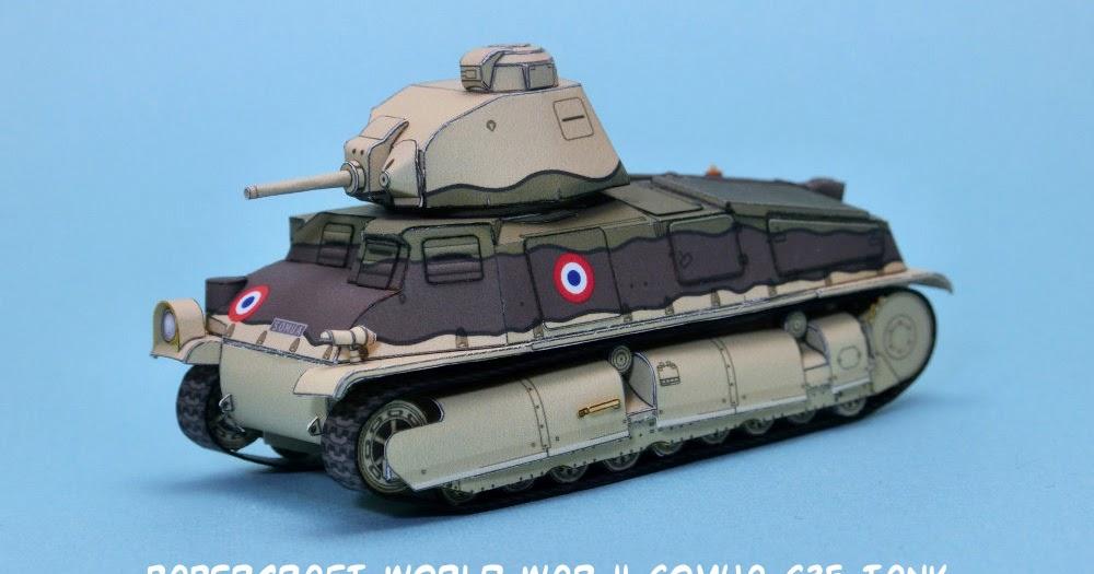 K Paper Craft Tanks