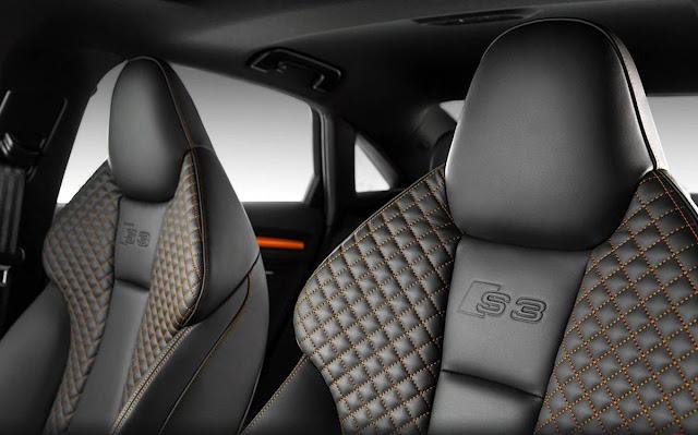 Audi S3 Amarelo Vegas - interior