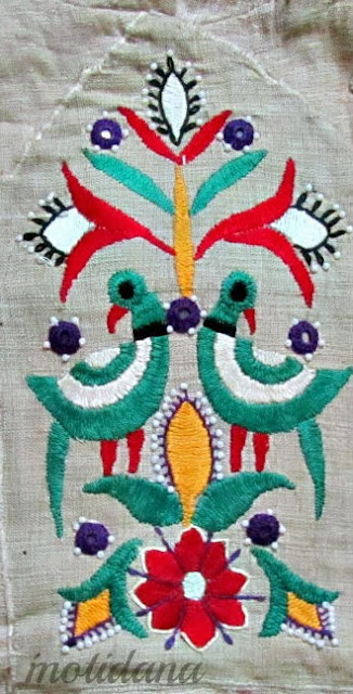 kathi embroidery motif