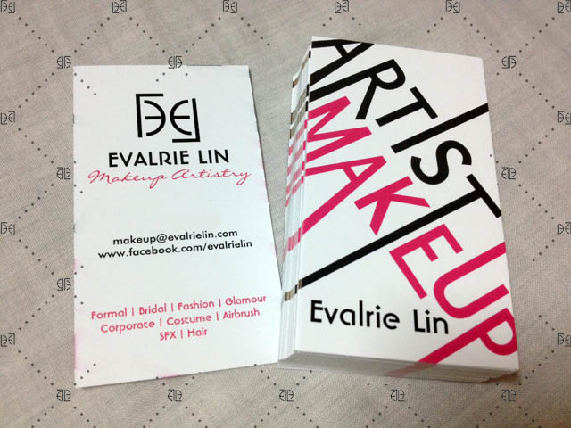 Evalrie Lin Mua New Business Cards