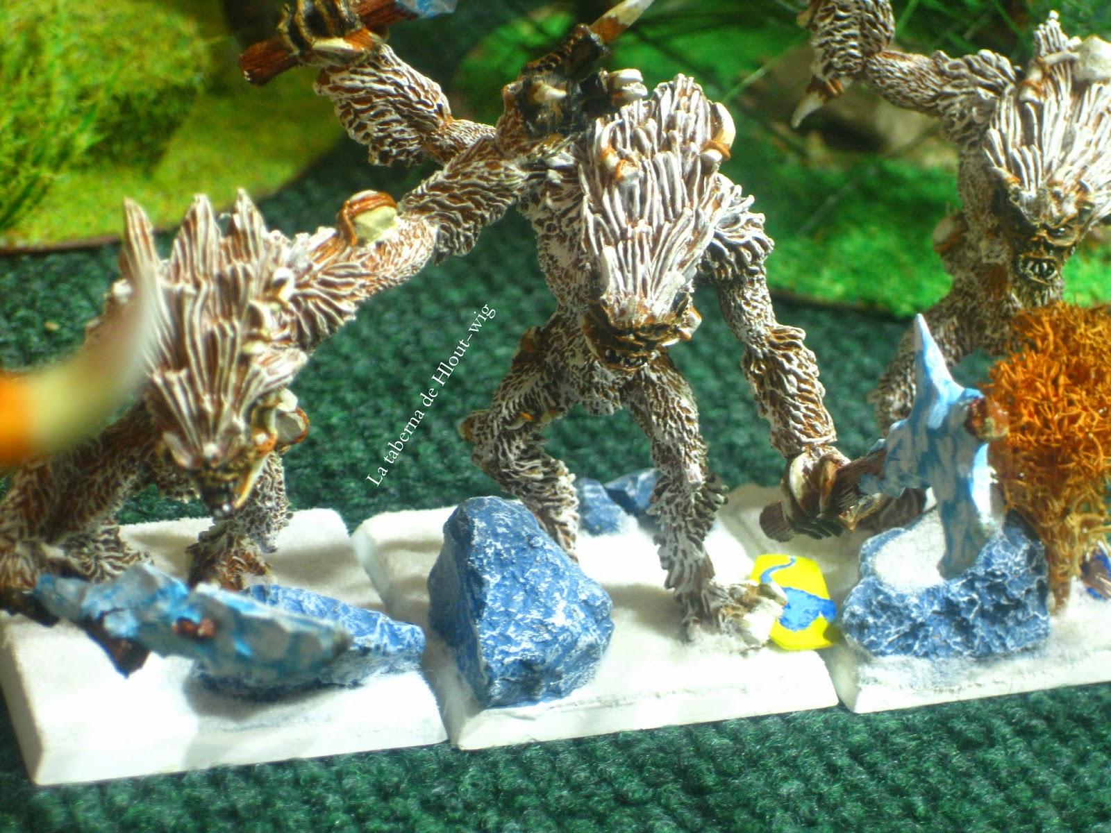 Yetis de los reinos ogros