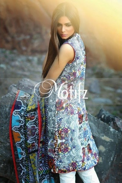 Motifz New Summer Lawn 2015 Collection