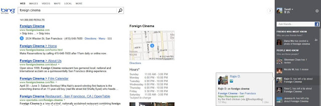 latest Bing search engine