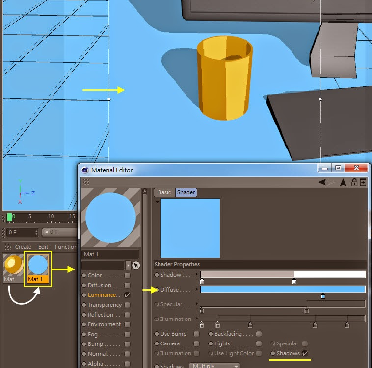 2D Style for 3D Objects in Cinema 4D 10