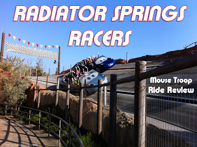Radiator Springs Racers Review Cars Land