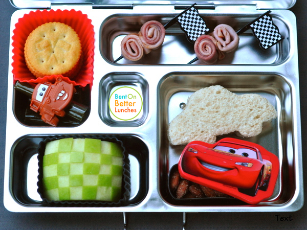 Cars Mater & Lightning McQueen bento School PlanetBox Lunch