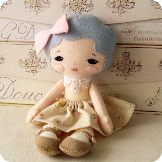 Fabric Felt Dolls Dress Designs