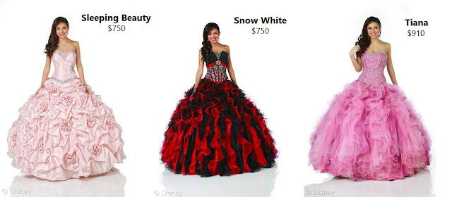Disney Royal Ball Quinceañera Dress Collection