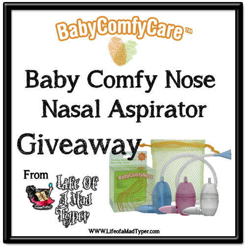 Baby Comfy Nose Giveaway!