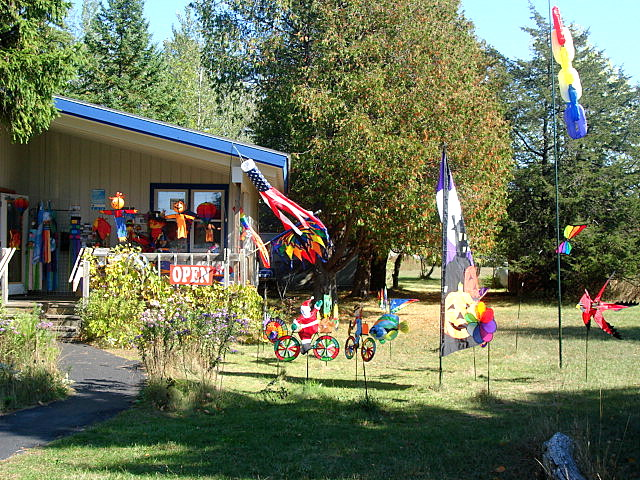 As you pull into the parking lot the yard is full of wind socks and moving lawn ornaments. I wanted to start choosing right away ) & Louise Sanchez / Herbs Crafts Gifts: A Kite Store Door County ...