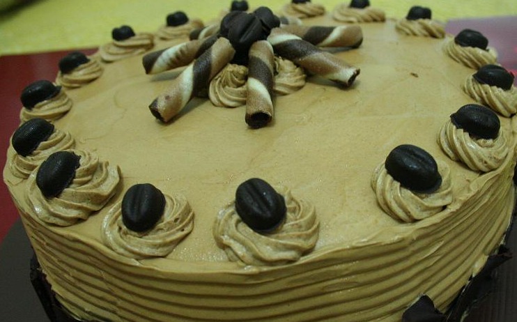 Cara Membuat Kue Mocha Kismis