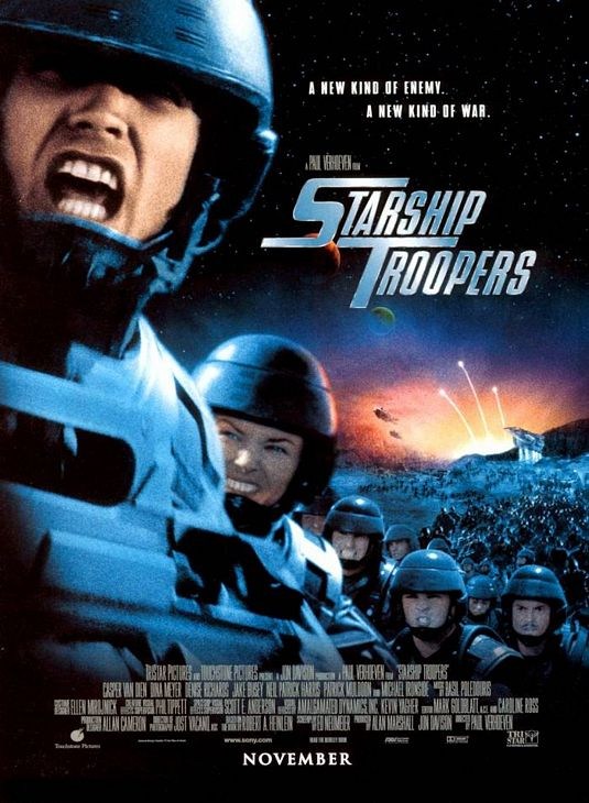Starship Troopers movie poster
