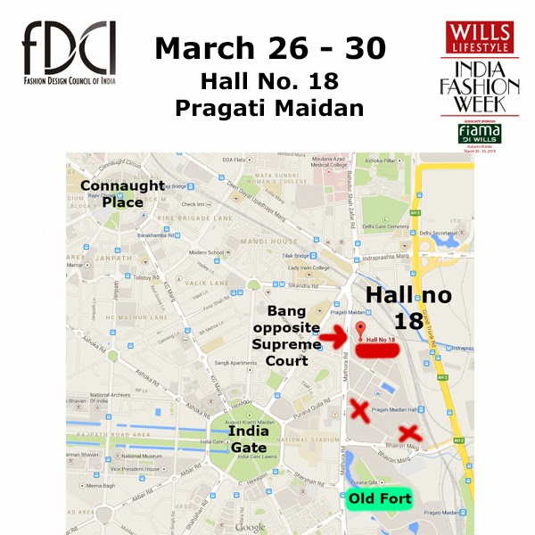 Hall 18 Pragati Maidan Map