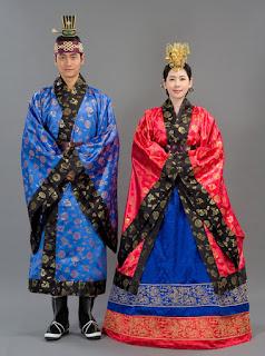 baju adat pernikahan korea