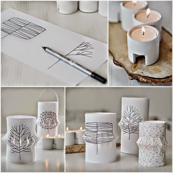 7 tutoriales de farolillos de papel decoraci n for Farolillos de decoracion