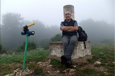 Arrieta mendiaren gailurra 1.006 m. --  2011ko ekainaren 10an