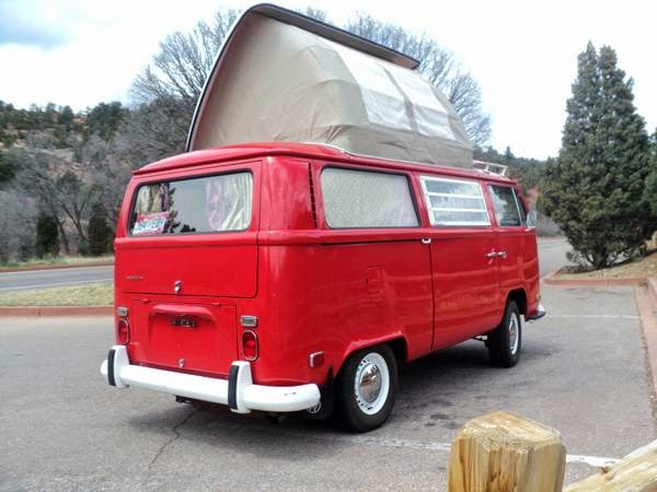 1971 Vw Bus Dormobile Camper Buy Classic Volks