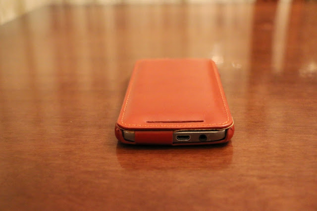 Foto 8 cover HTC One M9 StilGut in pelle cognac