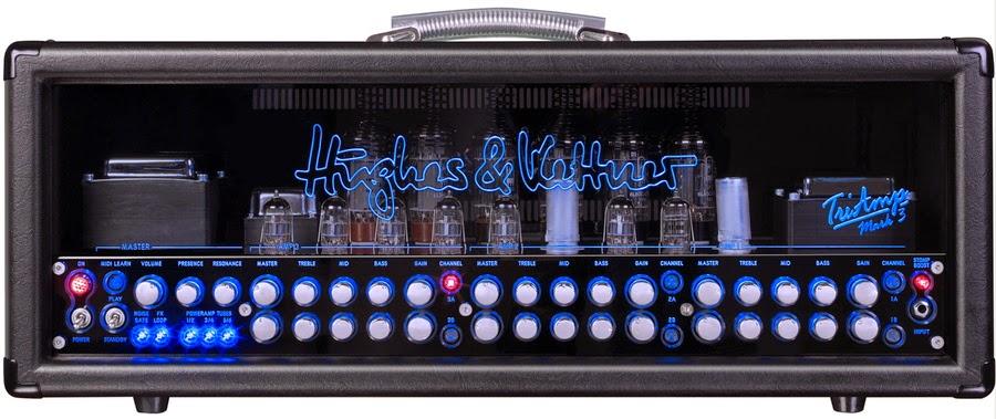 独立6チャンネルx7通りのパワー管で42種類のサウンド、128 MIDIプログラム、Red Box DI搭載の超多機能アンプ(追記)