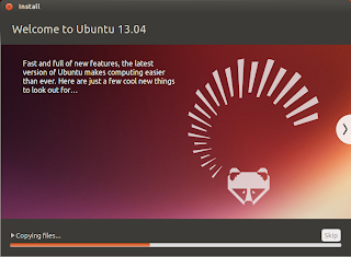 Welcome to Ubuntu 13.04