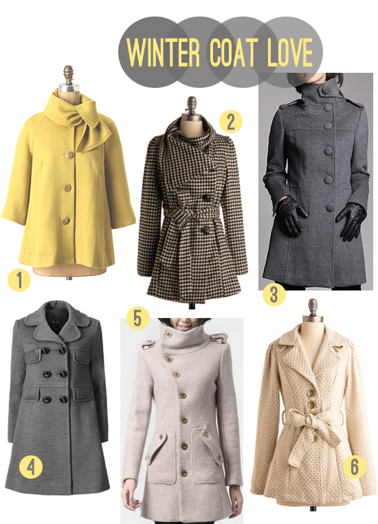 Bubby and Bean ::: Living Creatively: Help Me Pick A New Winter Coat!