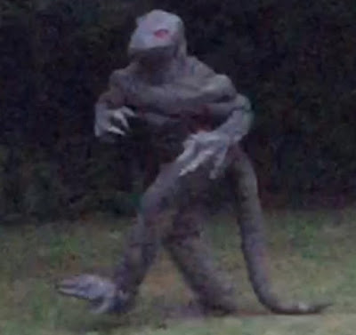 Famous Swamp Lizard Captured On Camera 2015, UFO Sighting News