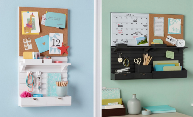 New: Wall Managers From Martha Stewart Home Office