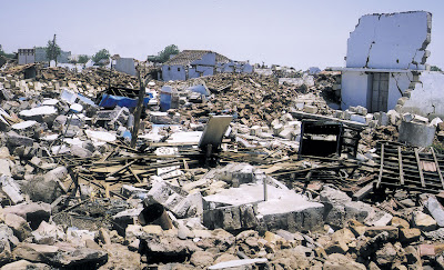 The earthquake in Gujarat