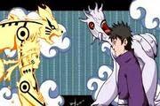لعبة قتال ناروتو و ساسكي ضد الجيوبي naruto vs ten tails game