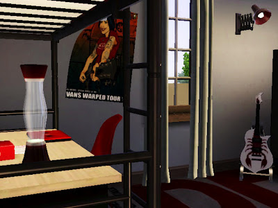 teenager bedroom punk sims 3